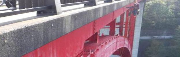 ロープアクセス・橋梁点検
